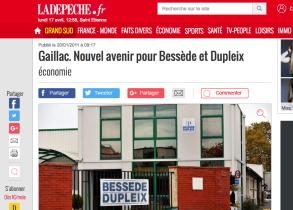 Sortie de crise pour Bessède et Dupleix (Janvier 2011)